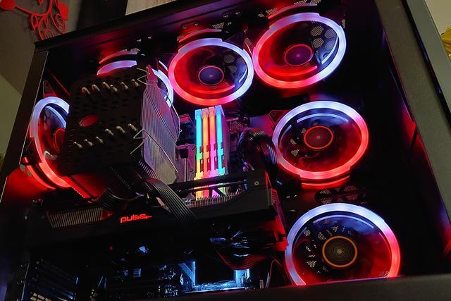 旧电脑照样玩灯,千元RGB升级方案分享