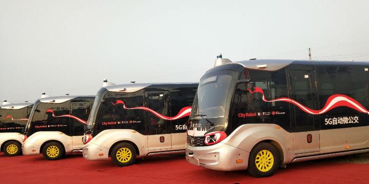 5G自动微公交在乌镇开跑成全域旅游智能出行的样板工程