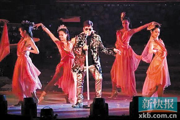 谭咏麟11月惠州开唱:保持活力的