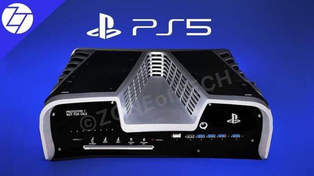 索尼PS5实物图遭泄,此前曝光的专利设计被确认