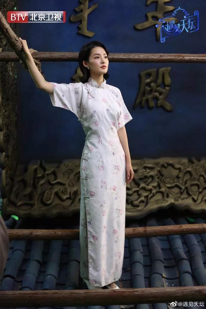 李沁版林徽因受好评,吴谨言也曾饰演,22岁就敢挑战复古发型?