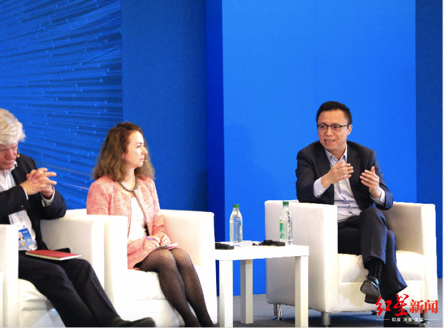 井贤栋乌镇论道:当下最紧迫是让所有人分享数字技术的增长红利