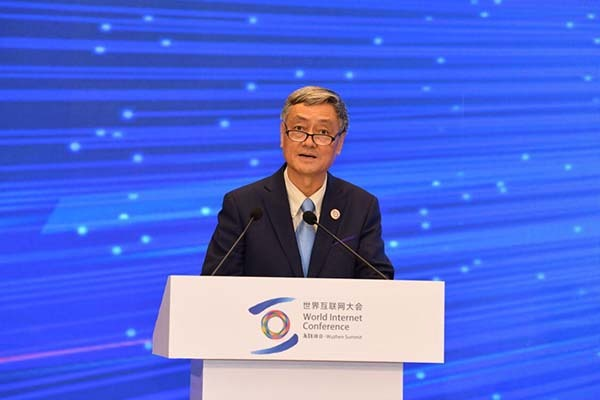中国电子科技集团公司董事长熊群力出席中外部长高峰论坛