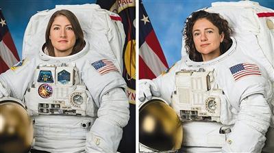 空间站首次全女性太空行走创历史