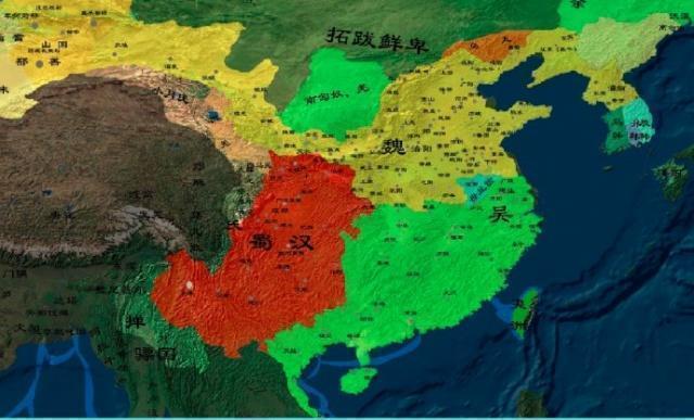 原创            蜀汉有四大都督,分别镇守一方,那么哪一个更重要呢?