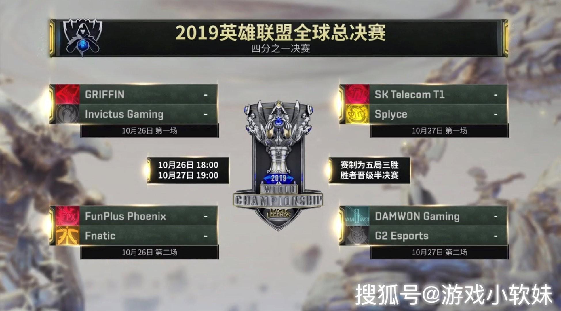 "LOL:S9八强赛分组分析,SKT成""天选之子"",IG迎战GRF!"