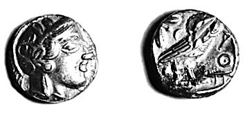 钱币在古希腊城邦中的广泛使用_雅典