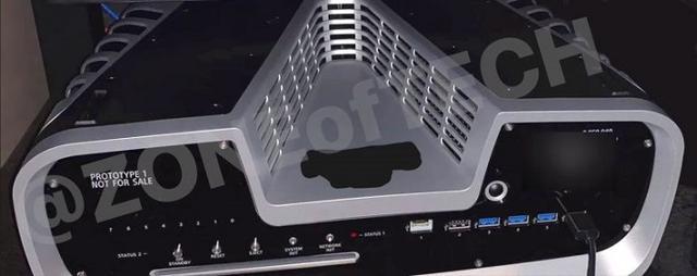 索尼PS5开发机最新3D渲染图更多详细细节展示