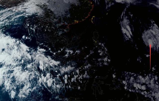 10月第一波双台风结束!博罗依即将路过关岛,大抛物线或直奔超台