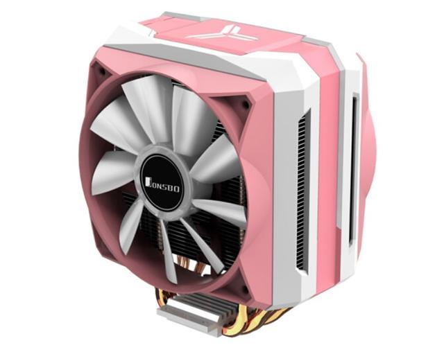 乔思伯粉色RGB散热器上架:299元,有点娘炮