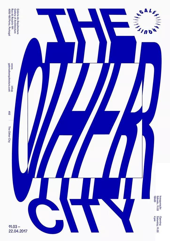 文字排版创意海报设计
