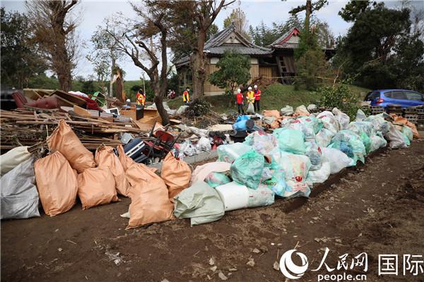 中国建设银行东京分行组织台风救灾志愿活动