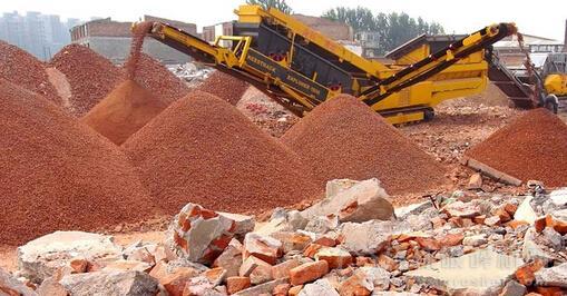 经济效益明显,广场砖机设备利用建筑垃圾制砖!