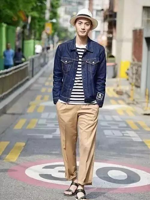 男豆豆鞋裤子搭配_男士卡其色裤子其实没有想象中那么难搭配_颜色