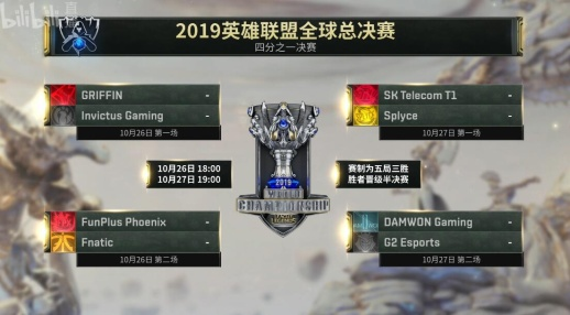 LOLS9总决赛八强进四强赛比赛赛程iG/FPX比赛赛程详情一览