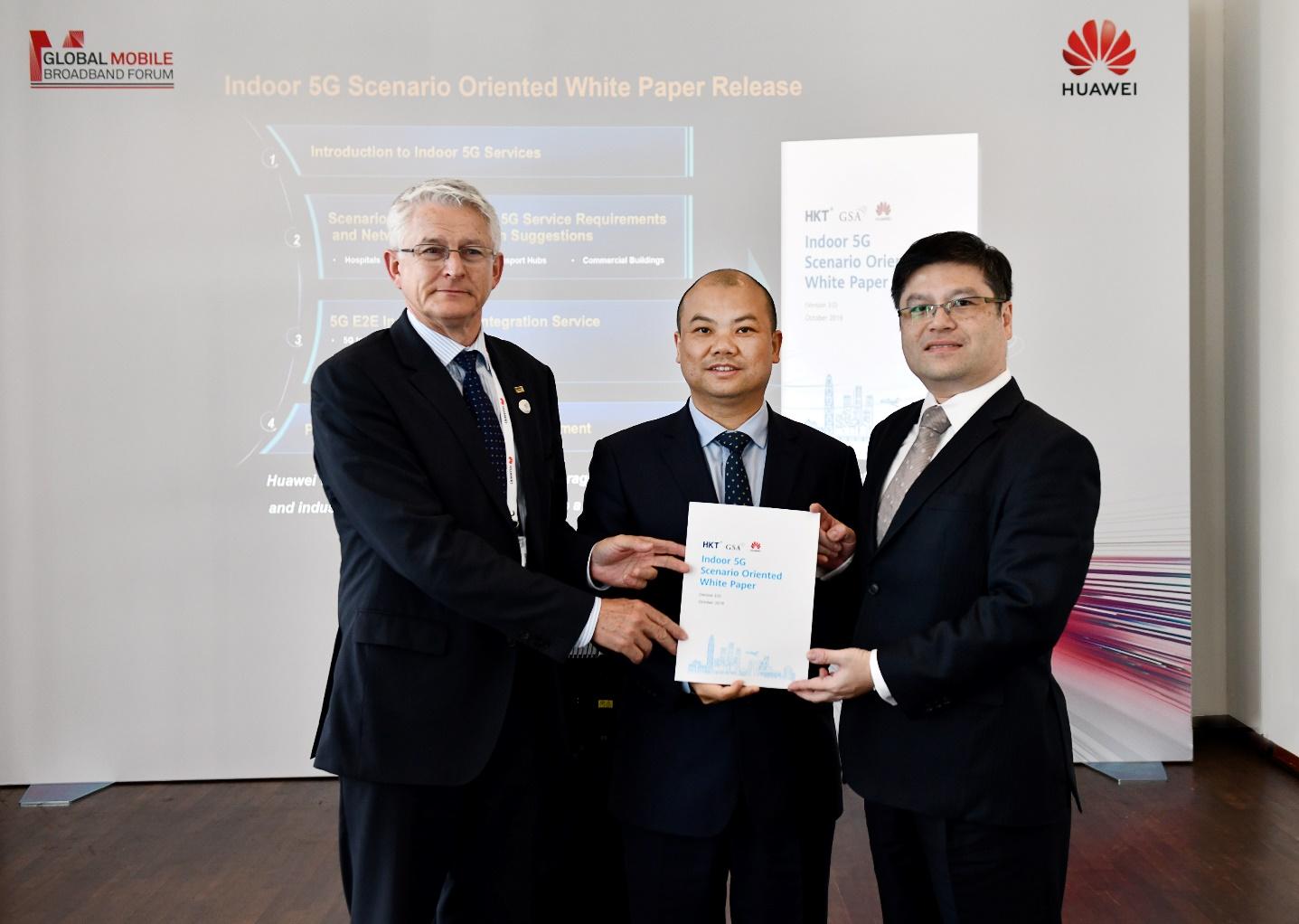 华为联合HKT、GSA发布室内5G场景化白皮书