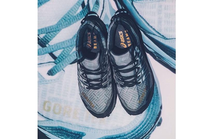 配套GORE-TEX服饰一同亮相!BEAMSxASICSFUJITRABUCO7联名鞋款正式发售!