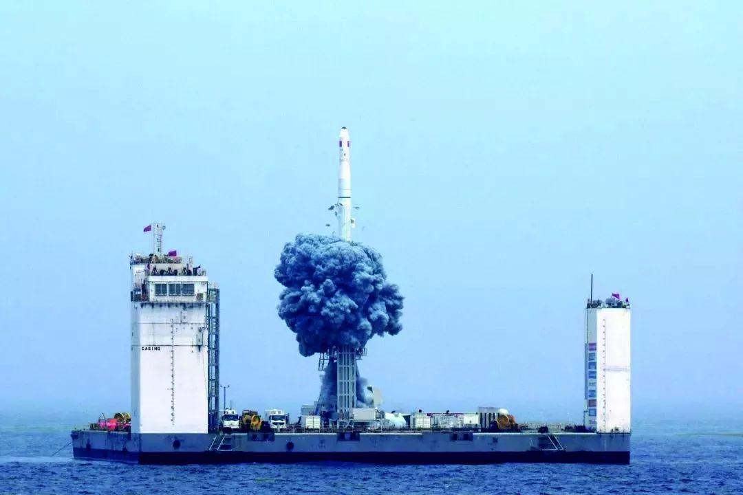 个头小 重量轻的大杀器 解密我国第一颗海上发射的火箭