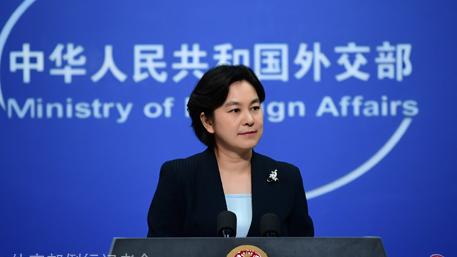 外交部:双重标准对待暴力违法活动害人害己