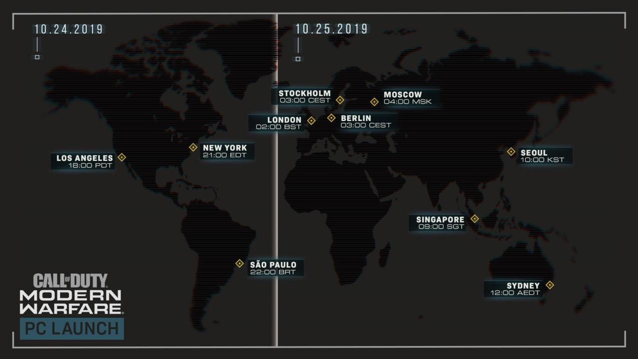 《使命召唤现代战争》即将发售25号全平台解锁