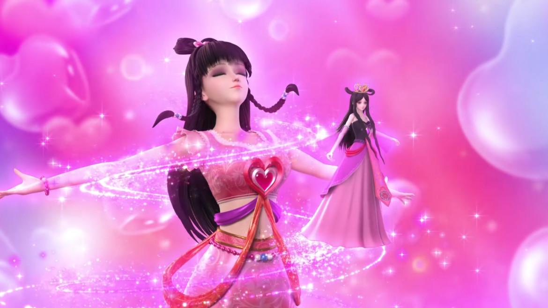 动画,王默从一个普通到不起眼的人类女孩,成为了叶罗丽战士,和仙境最图片