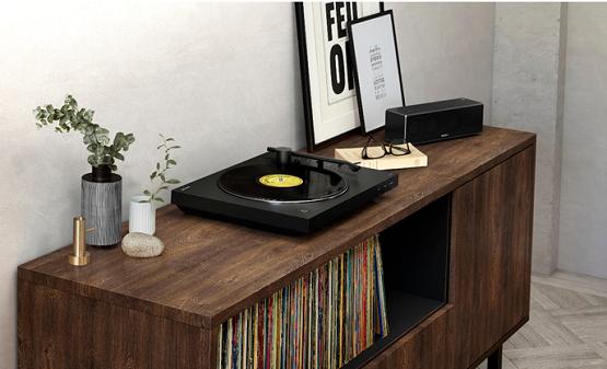 时光留声 欧亿索尼黑胶唱片机PS-LX310BT传递有温度的音乐