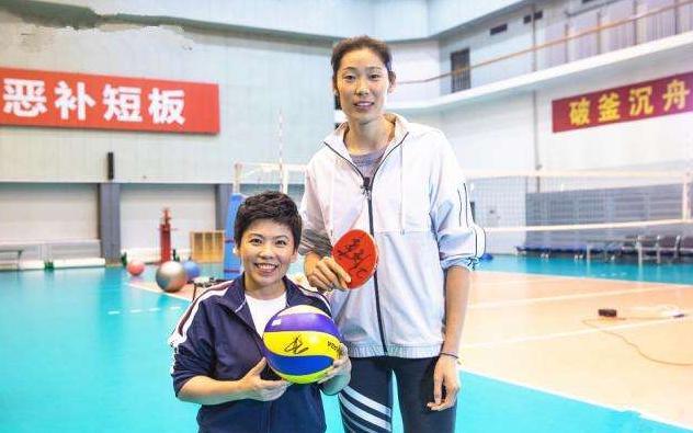 朱婷既谦虚又自豪:我是有排球天赋,我只在目前是世界第1主攻