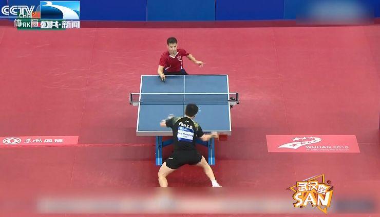 【直击赛场】樊振东逆风双杀助力中国夺下乒乓球男团冠军
