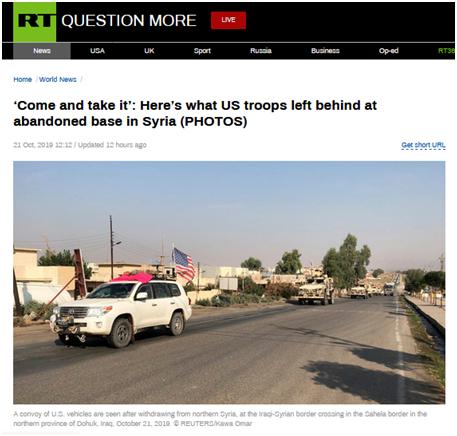 """俄媒曝光驻叙北美军如何""""打发时间"""":玩电子游戏,还读《哈利•波特》"""