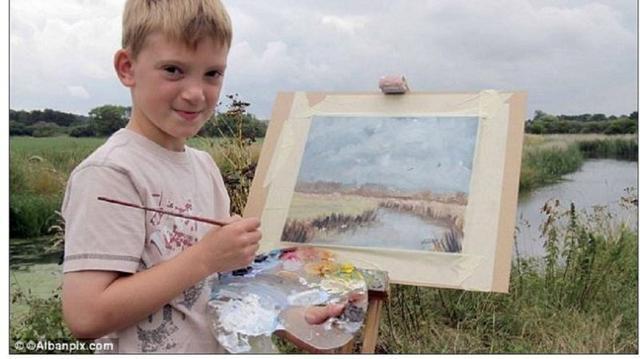 原创8岁买房养全家!17岁身价超过2700万,英国绘画神童教育方式曝光