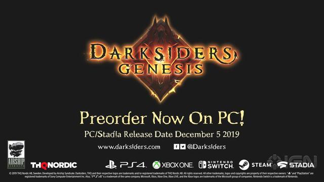《暗黑血统:创世纪》新CG预告PC/Stadia发售日确定_GeForce