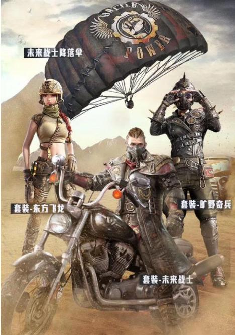 """和平精英:新军需""""未来战士套装""""即将上线,玩家表示好抽就好"""