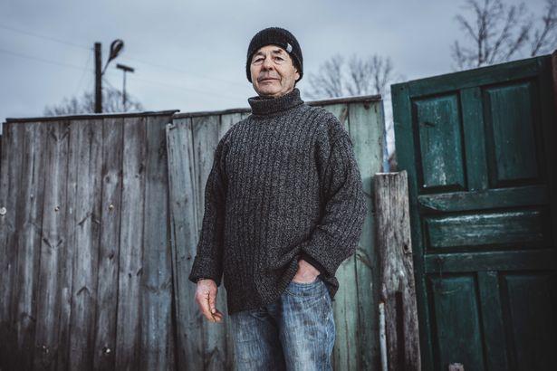 罗宾·,生活,居民,辐射,木屋,生物,灾难,家园,老人,Robyn