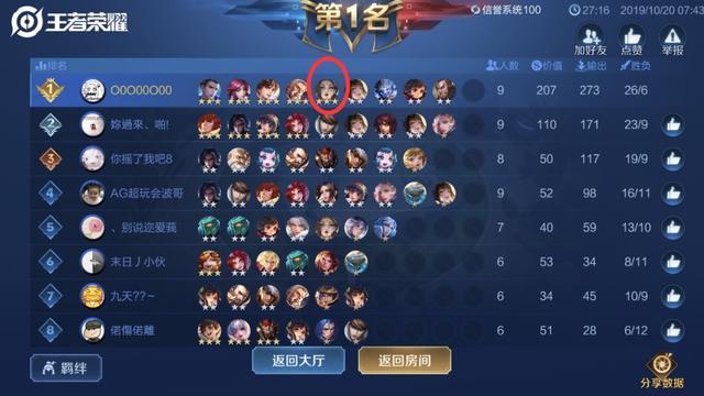 王者模拟战玩家晒战绩表示长安理财流只适合前期后期可换长城