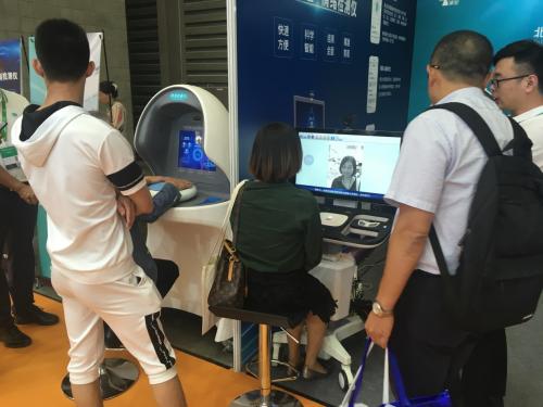 智能筛查机器人 助您做好亚健康检测_康加