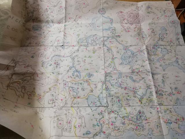 妈妈亲手绘制的《荒野之息》地图所有细节全标注_itika