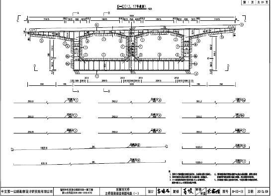cad桥梁平面图纸,最新的cad桥梁平面图纸设计免费素材