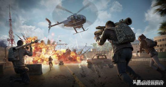 直升机与重武器这大概是战术竞技游戏最火爆的玩法