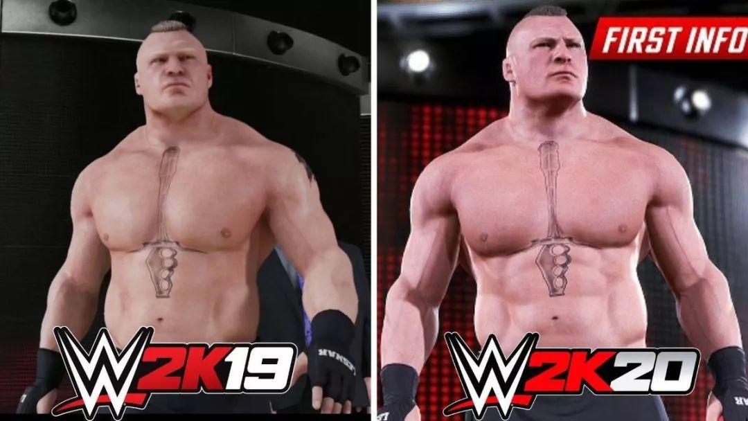 《WWE2K20》还没上市,就遭到了一轮大型吐槽