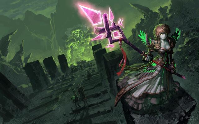 魔兽世界最和谐打开方式,亡灵长肉变萝莉,萌妹占领部落