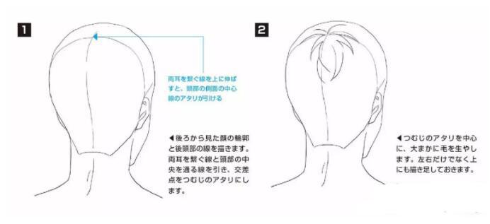 如何画好动漫人物头发?超详细的人物头发绘制教程! 教学教程-第7张