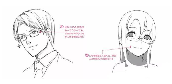 人物表情怎么画?漫画中喜悦表情的画法教程! 教学教程-第7张