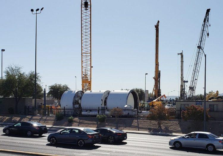 马斯克的挖掘公司Boring承建的拉斯维加斯隧道项目已全面施工