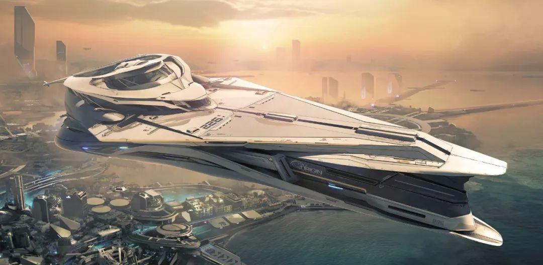 《星际公民》里的超豪华宇宙游艇,在建筑设计师眼里是什么样的?_Jump