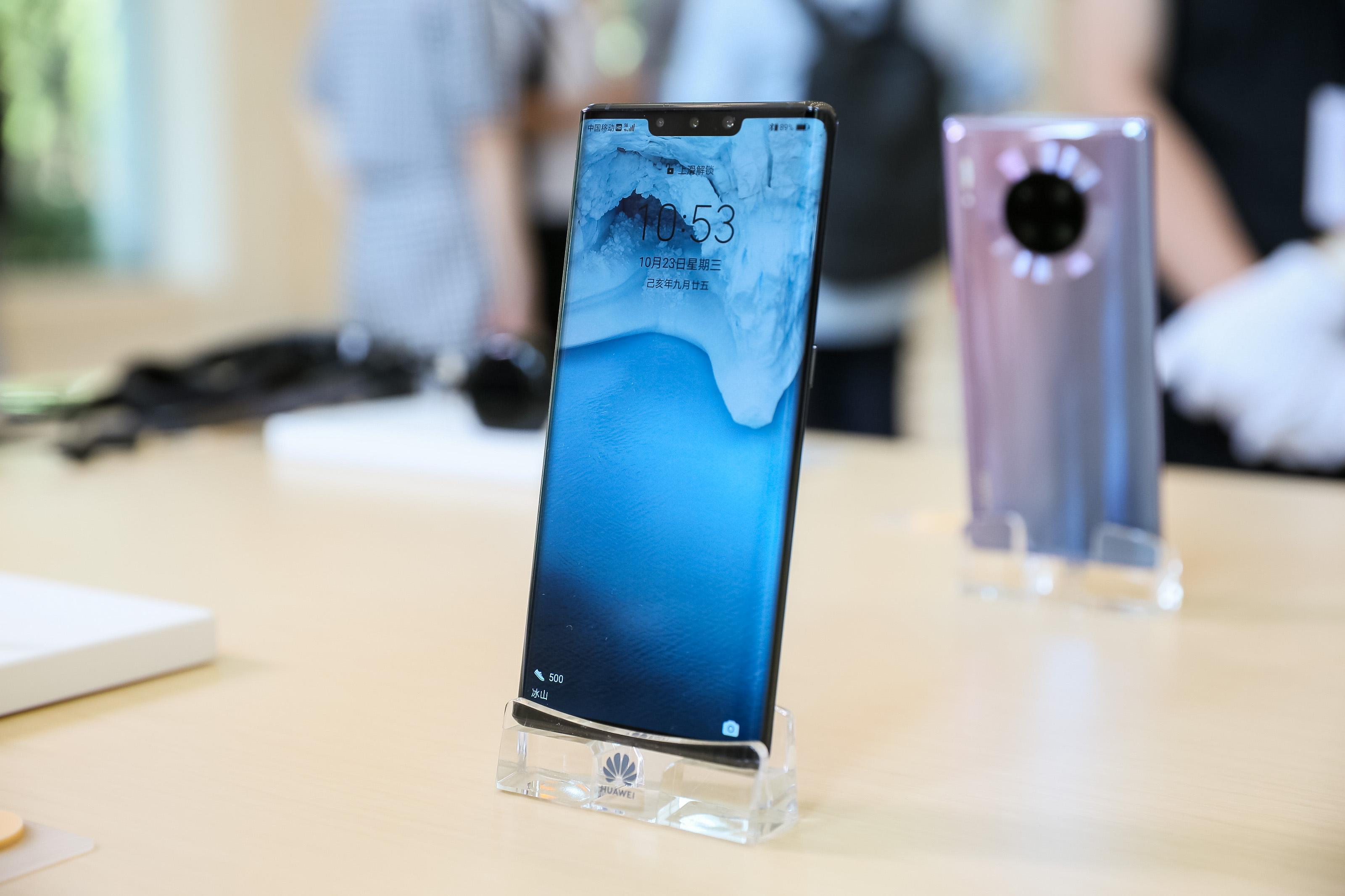 何刚:华为手机出货量已突破2亿台