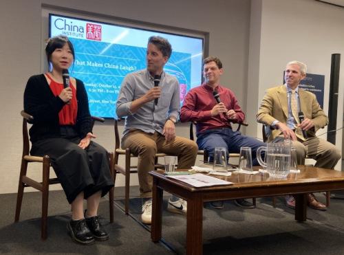 中美单口喜剧演员美国分享在中国演出经历