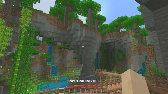 《我的世界》RTX光追开启前后对比简直两个游戏