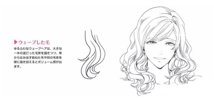 如何画好动漫人物头发?超详细的人物头发绘制教程! 教学教程-第13张