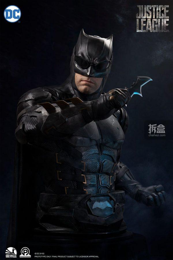 开天工作室DC系列蝙蝠侠1:1半身像_预定