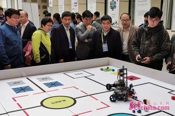 第三届山东省大学生智能技术应用设计大赛举行